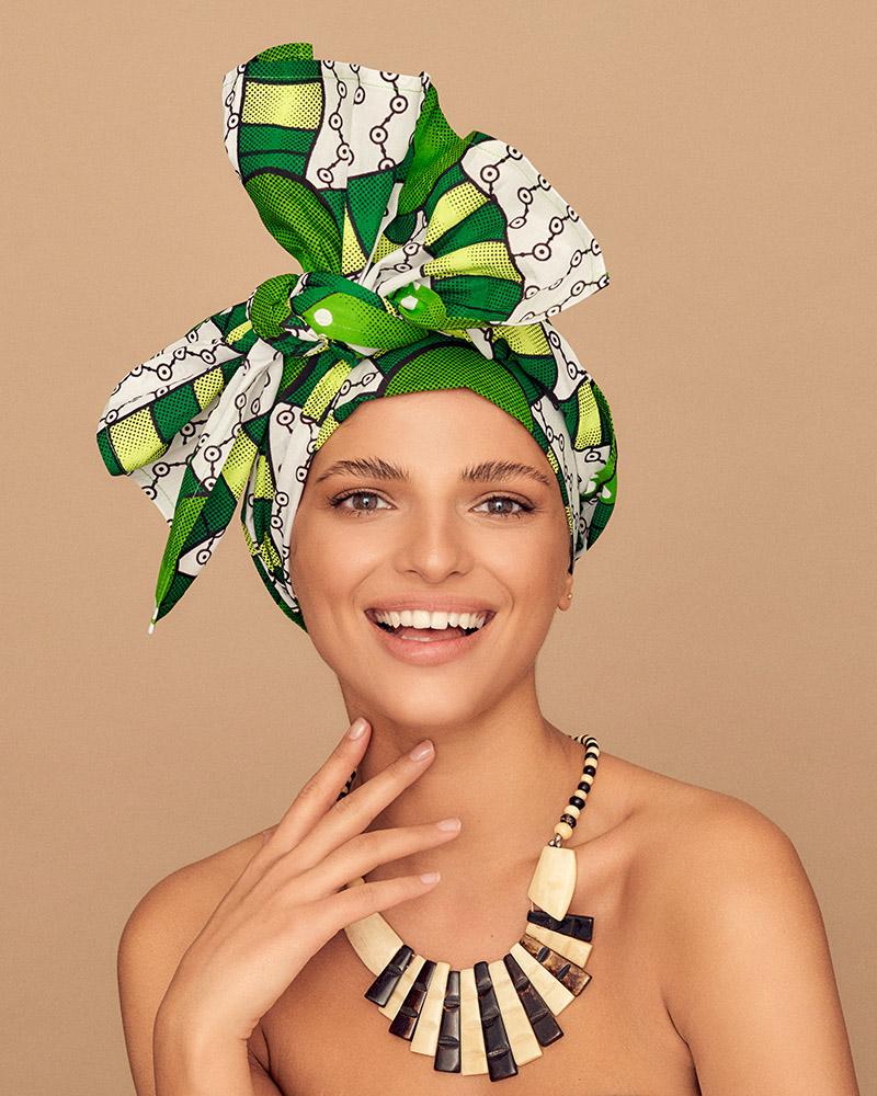 ZEBRA STORE Lome turban