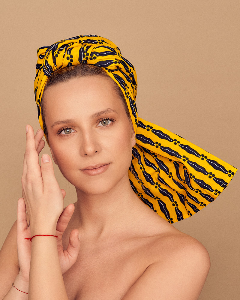 ZEBRA STORE Tiebele turban