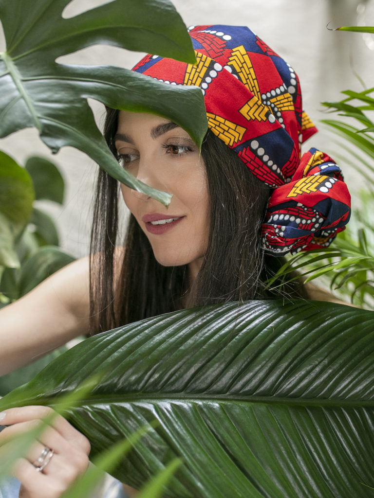 afrykański turban Malawi