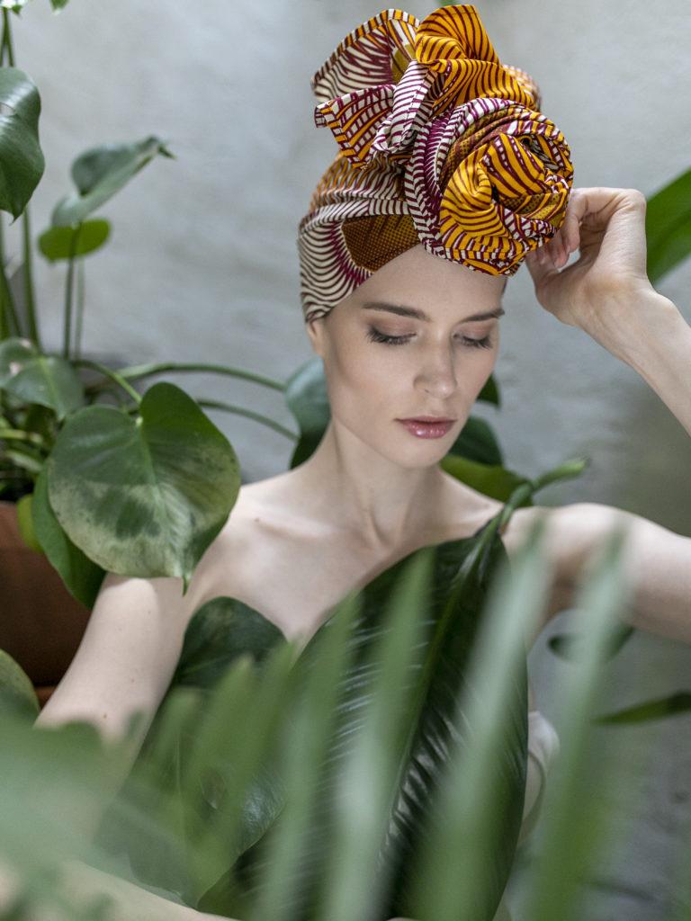 afrykański turban Meroe