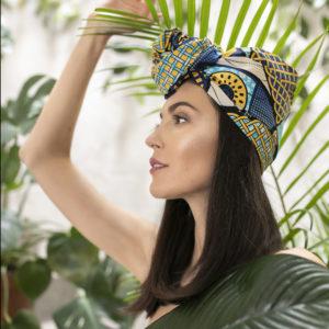 afrykański turban Nungwi
