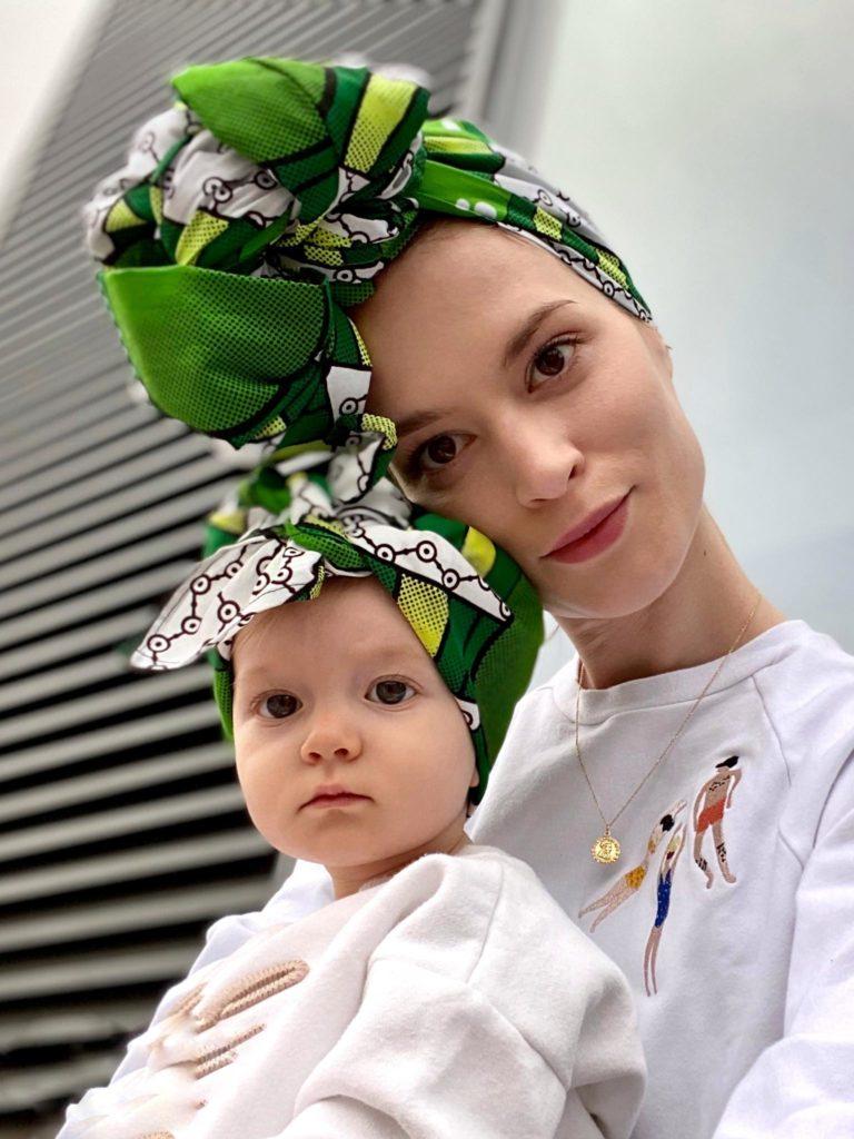 afrykański turbanik dla dzieci Lome