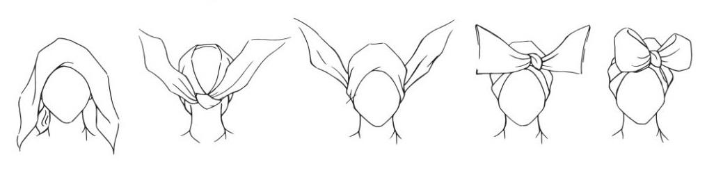 wiązanie turbanu 3