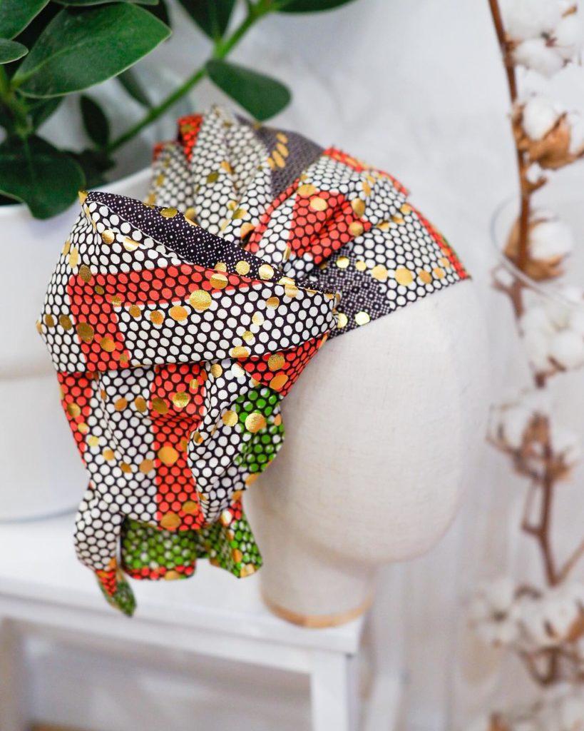 afrykański turban Cullinan - Zebra Store