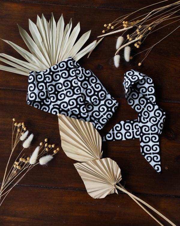 Opaska afrykańska B&W - Zebra Store