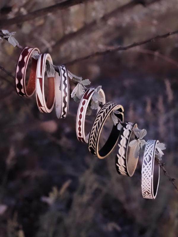 afrykańskie bransoletki z Namibii - Szpilki w Plecaku