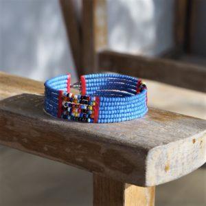 Masajska bransoletka na rękę PANYA - Zebra Store