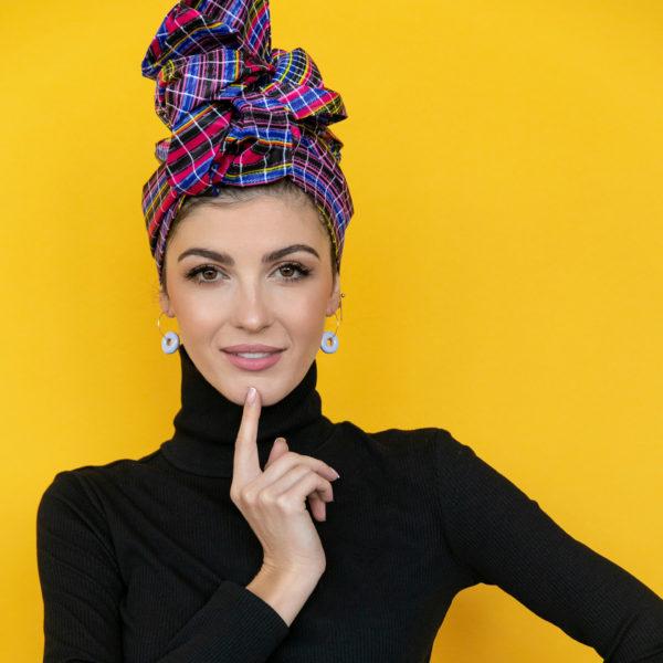 Arykański turban Indian Ocean - Zebra store